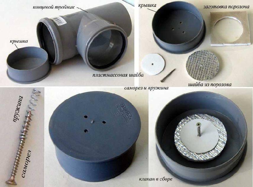 Как самому сделать обратный клапан для вентиляции