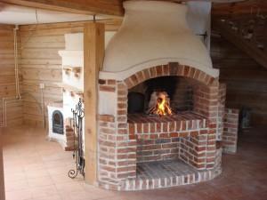 каменная печь для дома