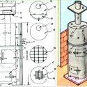 Печь из трубы своими руками: основные элементы и этапы