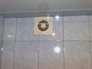 установка вентиляции