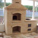 Построить печь мангал из кирпича легко и быстро