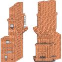 Печь для двухэтажного дома