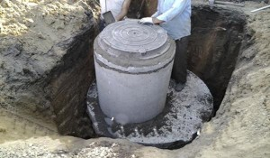 выгребная яма при высоком уровне грунтовых вод